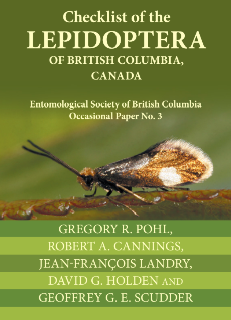 Checklist of the Lepidoptera of British Columbia, Canada.